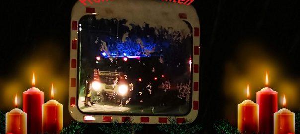 Weihnachtsgrüsse Feuerwehr Sankt Gangloff
