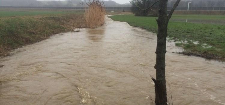 Neumarkt dem Hochwasser entkommen