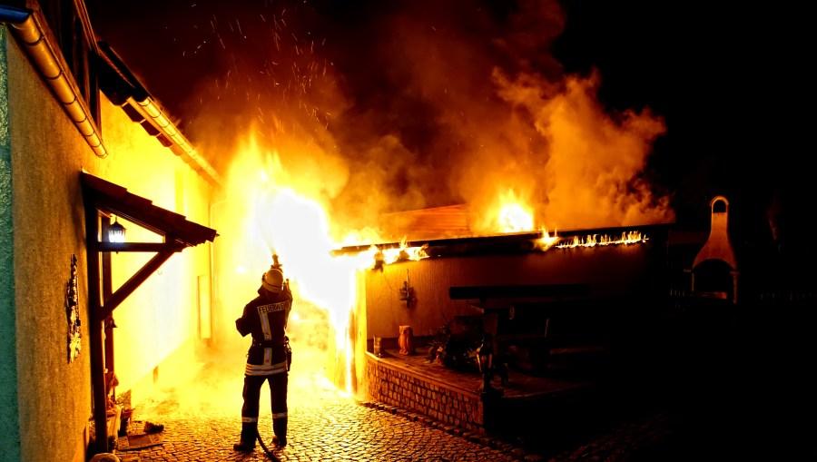 Feuerwehr Bad Kösen, Einsatz, Einsätze, Brand, FF Bad Kösen, Feuer