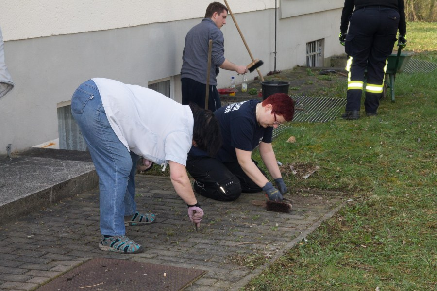 Feuerwehr, Frühjahrsputz, Feuerwehrverein, Jugendfeuerwehr, Bad Kösen