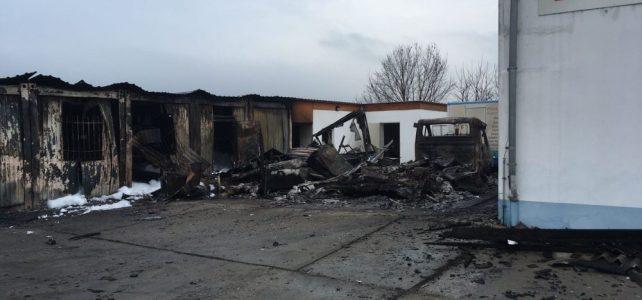 Großbrand in Neusörnewitz