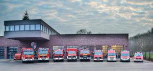 Fuhrpark der Feuerwehr Horstmar