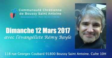 boussy saint antoine / culte à 10h