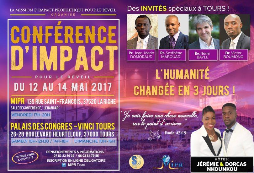conférence d'impact pour le réveil à tours