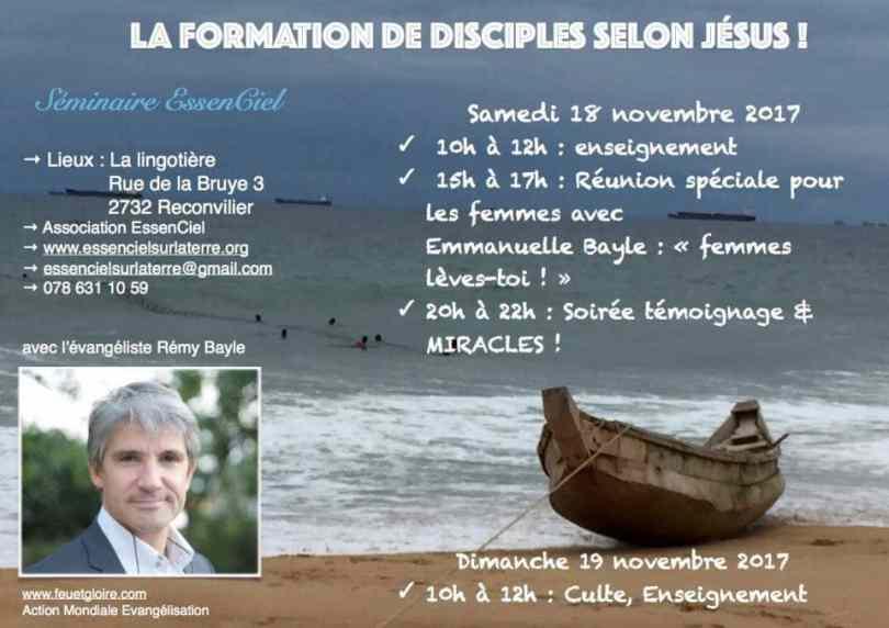 faites des disciples- séminaire à essenciel