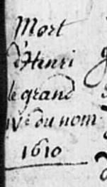 Mort d'Henri IV