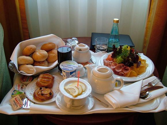 Breakfast in Warsaw, by marktristan - Flickr