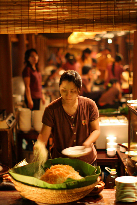 Hanoi Food Court, by Erik Charlton