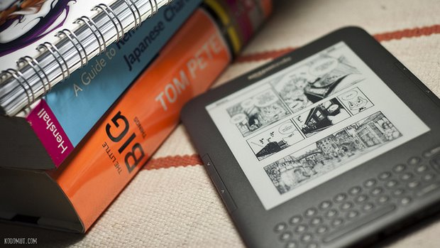Fevered Mutterings image: Kindle 3, by kodomut - (Flickr)