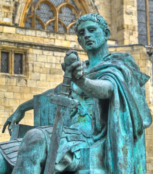 Constantine The Great - by Multiple fragments of tissue, Flickr