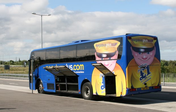 Megabus at East Midlands Parkwway - Mike Sowden