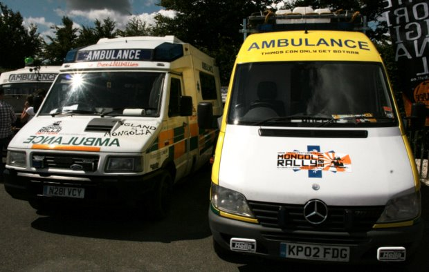 Fevered Mutterings image - The ambulances of the Mongol Rally 2011 - Mike Sowden