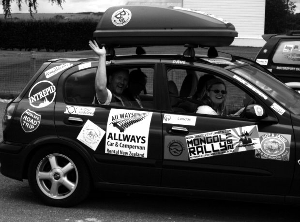Fevered Mutterings image - Social Media Syndicate at the Mongol Rally - Mike Sowden
