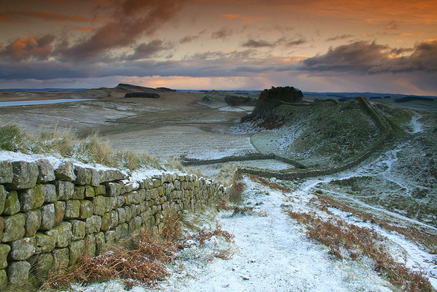Fevered Mutterings Image: Hadrian's Wall, by Stu & Sam - Flickr
