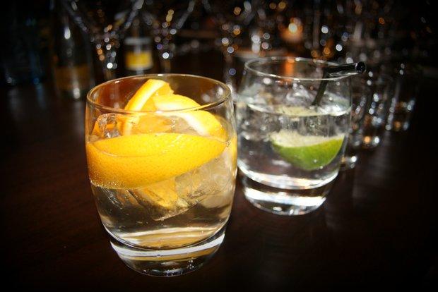 Gin-tasting, Sheraton Edinburgh
