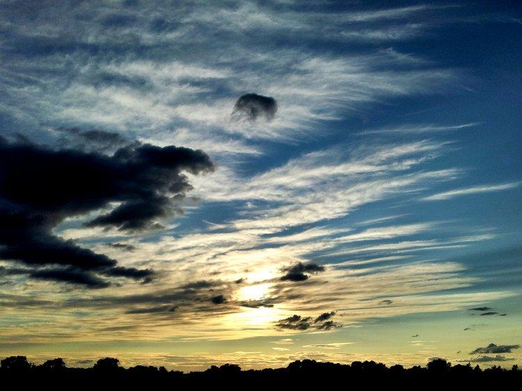sunset, yorkshire