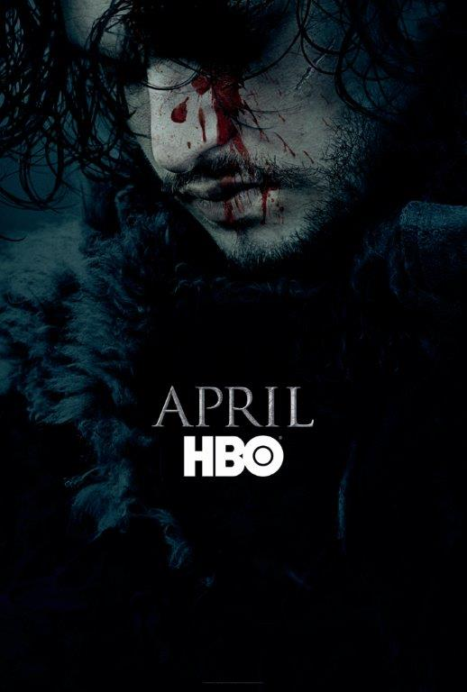 jon snow hbo poster