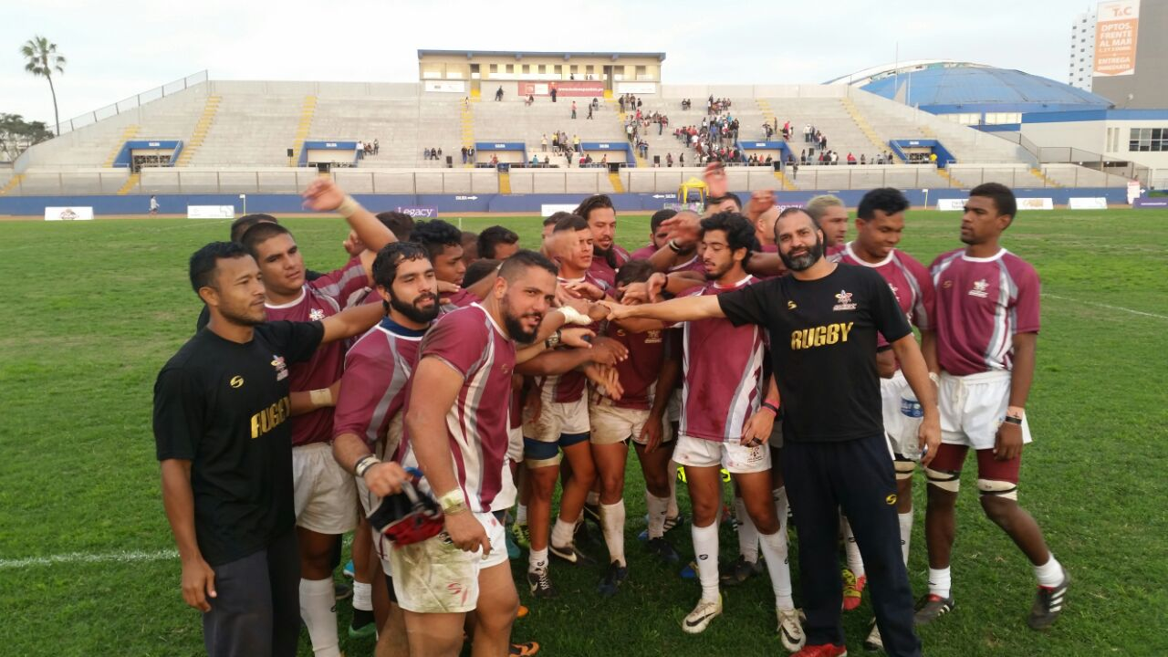Maquina Vinotinto selección Rugby Venezuela