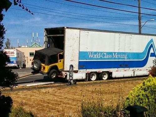 Jeep Moving Fail