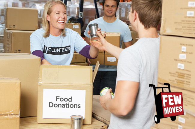 Where Can I Donate Food In Wilmington NC Before I Move?