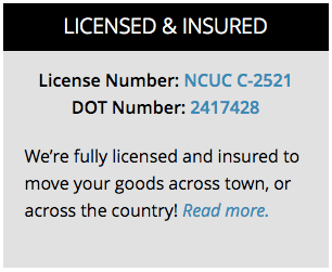 license and dot