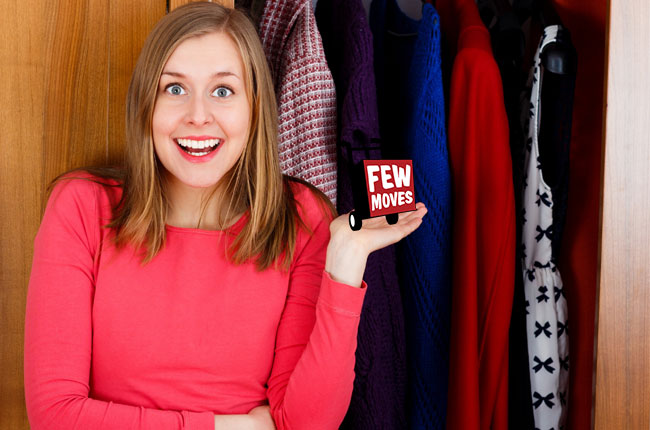 Six Hacks for Your Tiny Closet