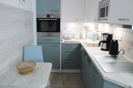 Fewo Blaue Nole Küche