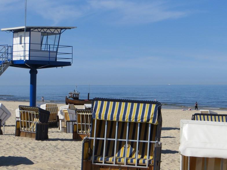 Fewo blaue Nole Usedom Strand