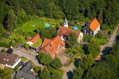 Luftaufnahme Abtsküche © Stadt Heiligenhaus