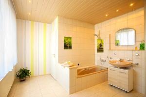 Badezimmer Ferienwohnung zum Ruppberg