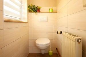 moderne Toilette Ferienwohnung zum Ruppberg
