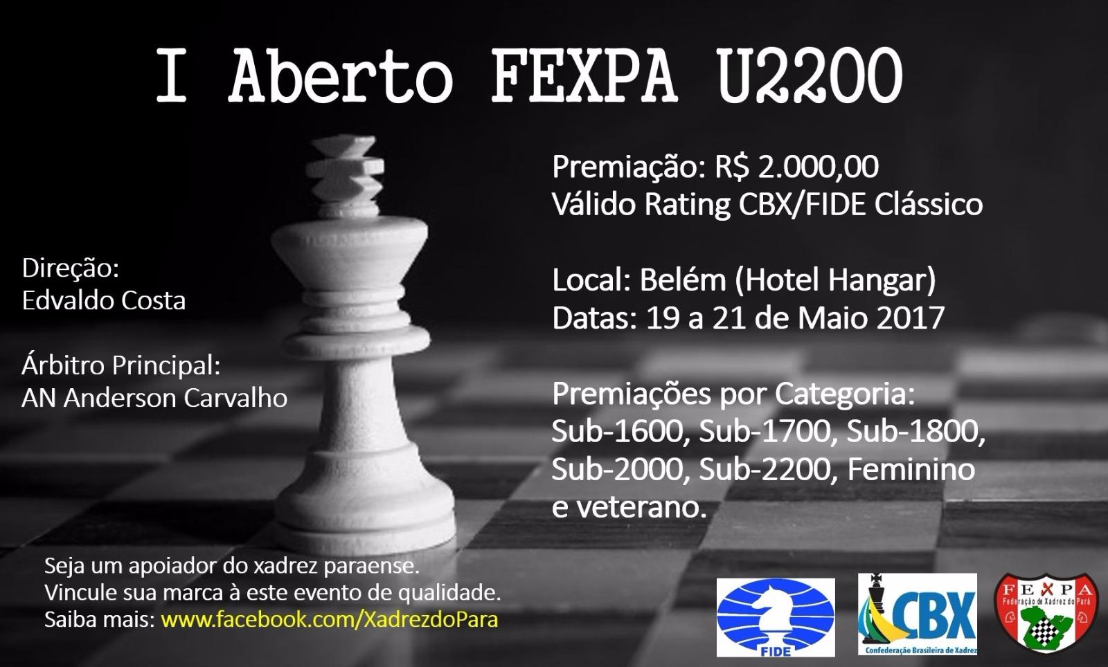 I Aberto FEXPA 2200