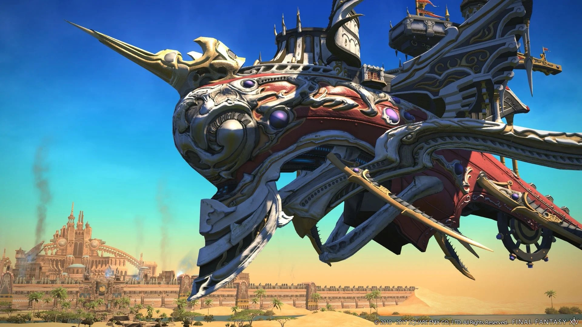 New Screenshots Of Final Fantasy XIV The Legend Returns