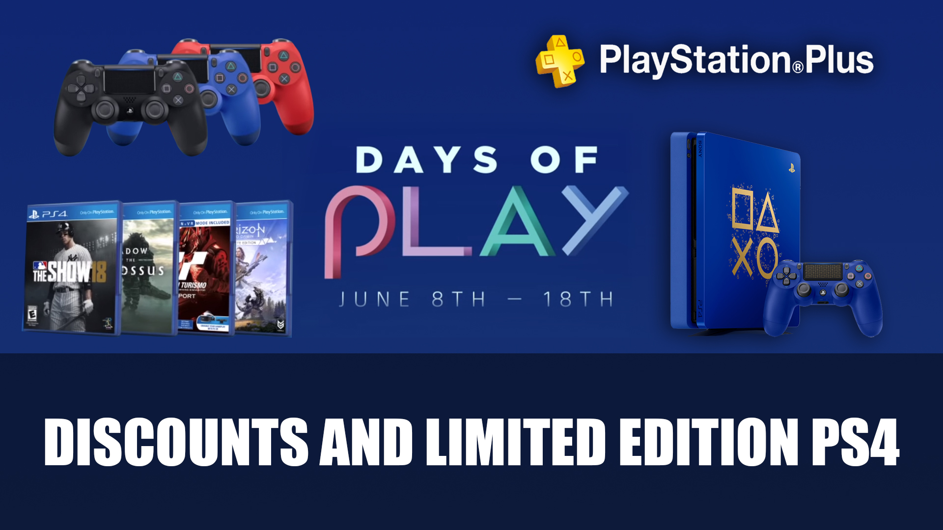 Playstations Days Of Play Event Returns In June With