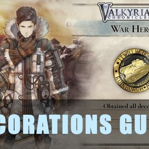 Valkyria Chronicles 4: Decorations Guide | Best Headphones