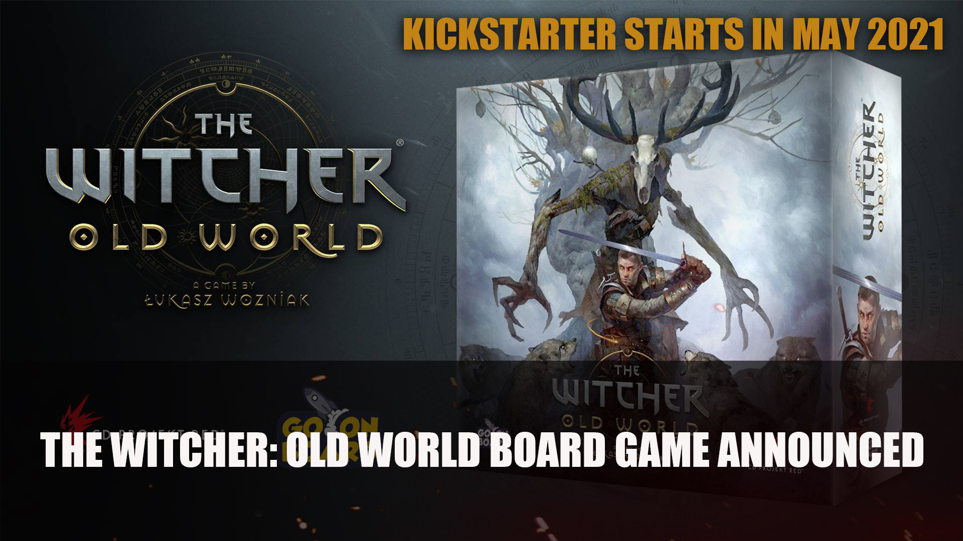 The Witcher: Old World Kickstarter starts in May Board Game