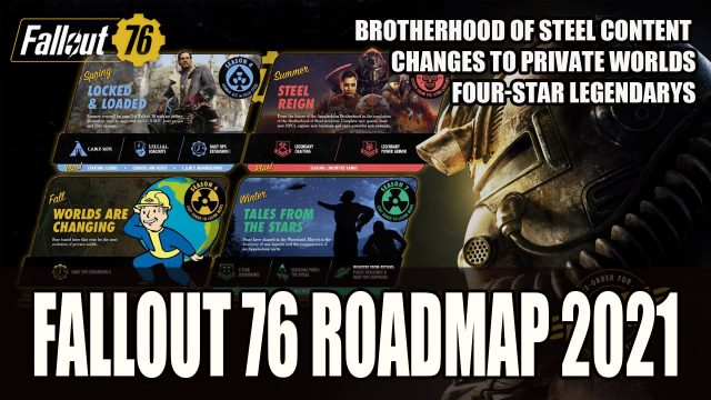 Fallout Series Roadmap 2021 76 story's content material with the assistance of the Daily More