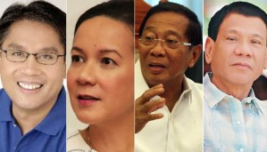 Philippines General Election 2016 Some of the Presidential Candidates