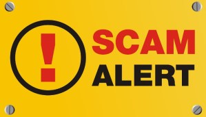 Beware of scams around!