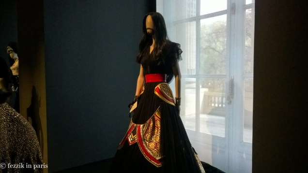 A dress for the bearded lady.