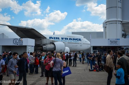 Le Bourget is also home to the French air and space museum. You can walk through their 747 and their Concordes for a supplementary fee.