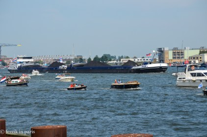 A cargo vessel, just passing through.