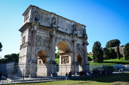 """The Arch of Constantine. (I """"remember"""" this too)"""