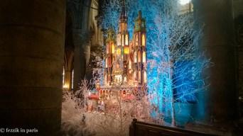 A Christmas display.