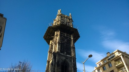 The previously-unseen tower.
