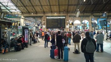 Gare du Nord's Solari board that was tragically (seriously, what a fucking travesty) replaced sometime in 2015.