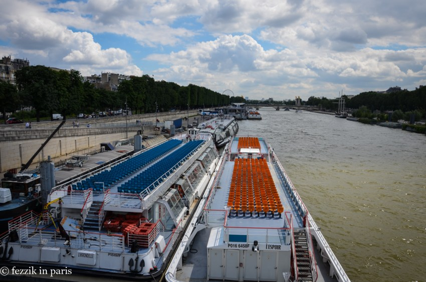 Hey, the Seine is looking normal again.