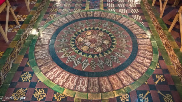 This cathedral's floor game is strong.