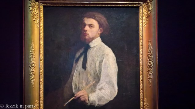 Now that we're in the exhibit, here's the man of the hour: Mr. Henri Fantin-Latour.