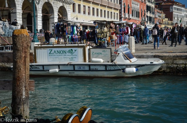 How the hell else does one deliver fish in Venice?
